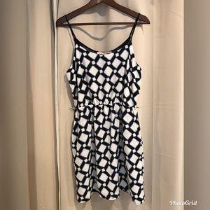 NWOT Forever 21 Contemporary Dress Sz L (#E17)